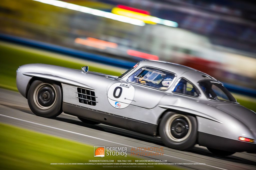 2019 HSR Classic 24 by IMSA - Daytona - Mercedes 300SL Gullwing