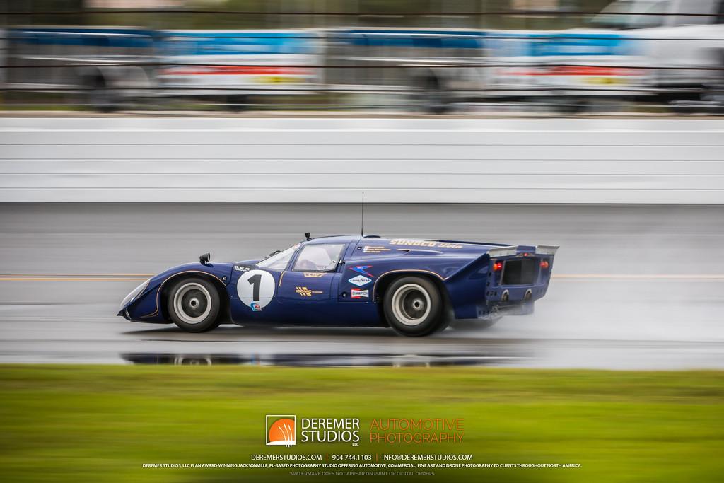 2019 HSR Classic 24 by IMSA - Daytona - Purple Lola T70