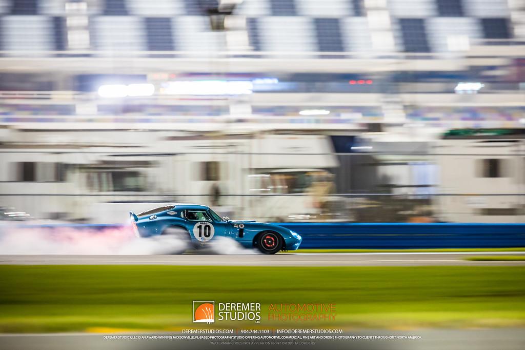 2019 HSR Classic 24 by IMSA - Daytona - Shelby Cobra Daytona Coupe