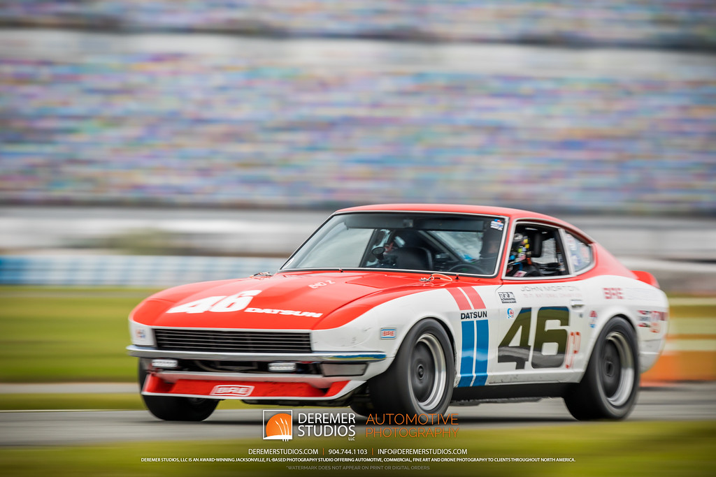 2019 HSR Classic 24 by IMSA - Daytona - Datsun 240Z