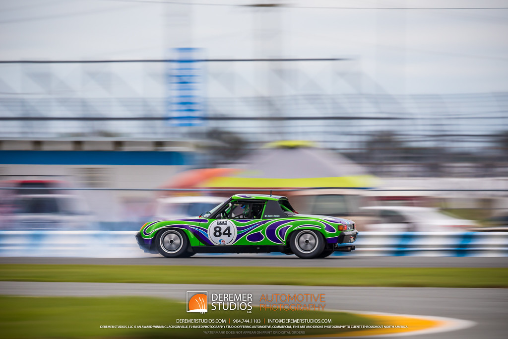 2019 HSR Classic 24 by IMSA - Daytona - Porsche spinning out