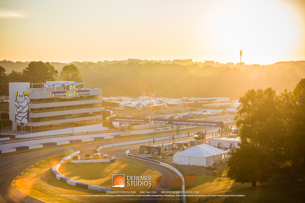 IMSA Road Atlanta - Motul Petit Le Mans - sunrise over turn 11