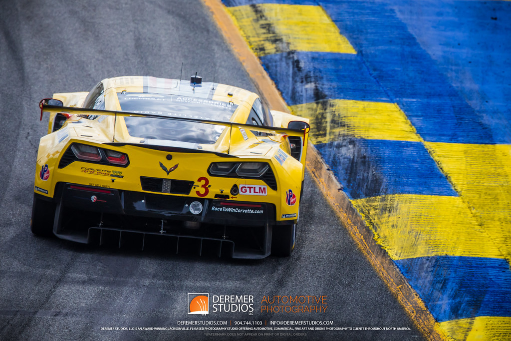 IMSA Road Atlanta - Motul Petit Le Mans - C7R Corvette exiting turn 5