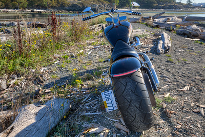 """Norse"" - Custom Motorcycle - Vancouver Island, British Columbia, Canada  Visit our blog ""Norse"" for the story behind the photo."