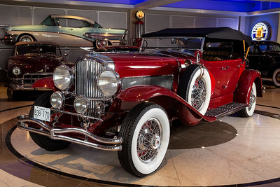 1930 Deusenburg Model J Phaeton