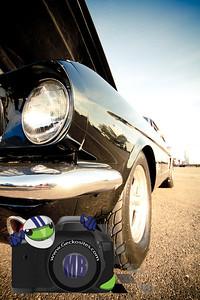Black 1965 Mustang