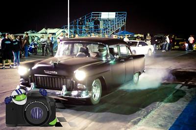 Black 55 Chevy