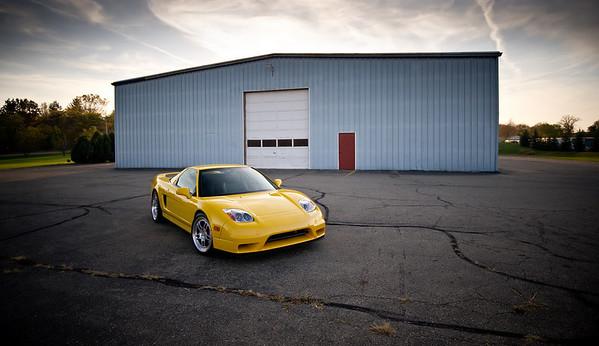 Spa Yellow Turbo NSX