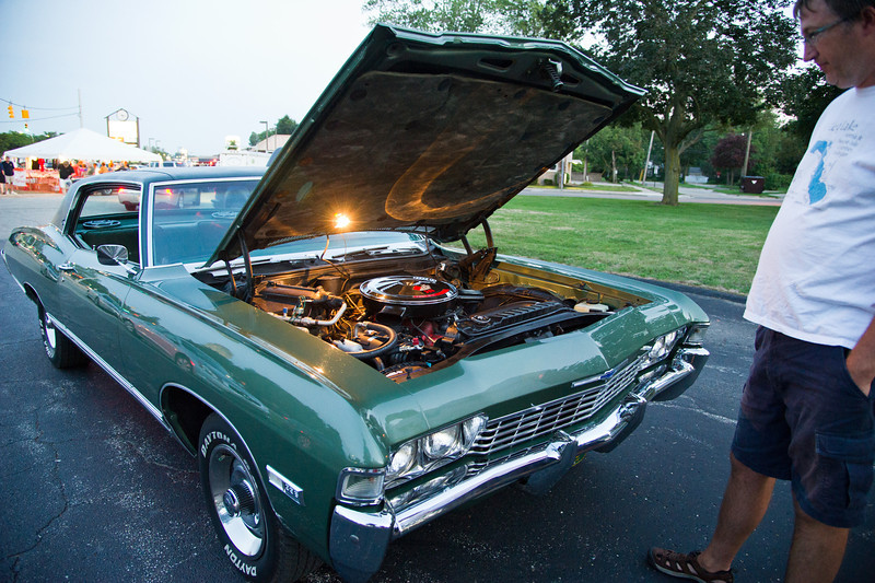 Woodward Dream Cruise<br /> The night of August 14, 2012<br /> Photos by Chris Amos<br /> <br /> 1968 Chevrolet Caprice<br /> Owner: Alan Wirebaugh