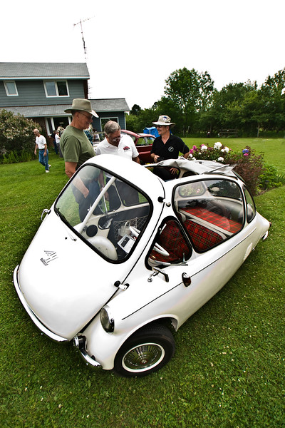 MicroCarNorth microcar rally, Coldwater ON, June 21-22, 2008