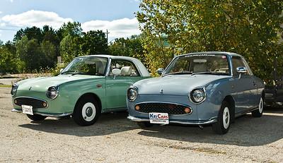 Figaro Trip to Kei Cars, Waterloo Ontario 08.09.06