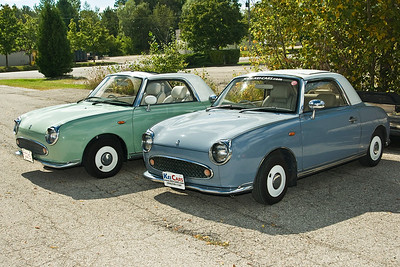 Figaro Trip to Kei Cars, Waterloo Ontario 08.09.06