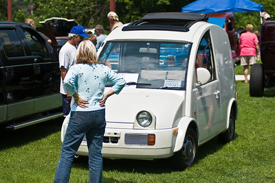 Michael Scott's 1989 Nissan S-Cargo, Smith Falls Rolling Thunder car show and shine