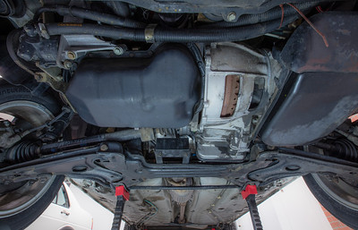 All-Original 1989 VW Jetta Coupe Underside