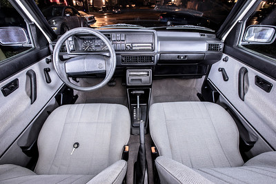All-Original 1989 VW Jetta Coupe Interior