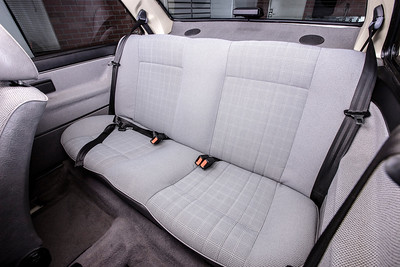 All-Original 1989 VW Jetta Coupe Back Seat
