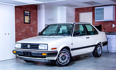 All-Original 1989 VW Jetta Coupe in the FRANKENBUILT Garage