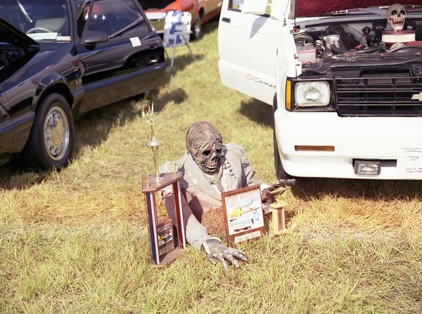 1994 Car show on base in Medium format photos