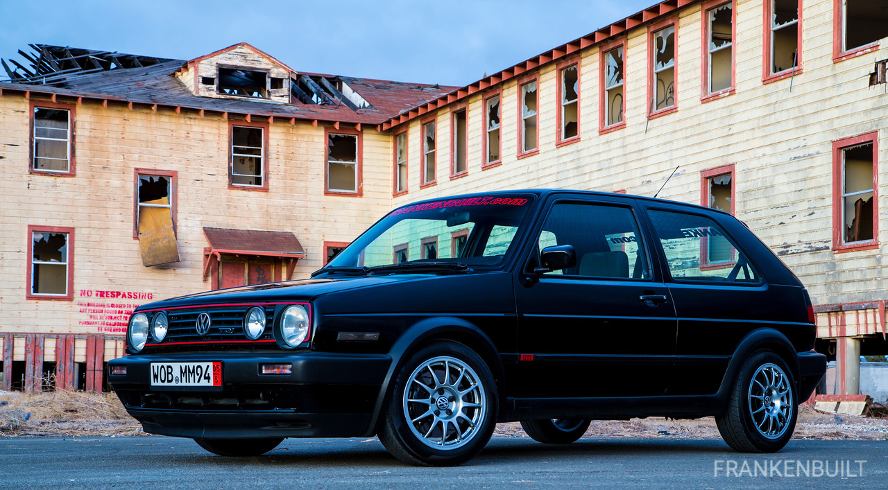 FRANKENBUILT VW MKII GTI TDI