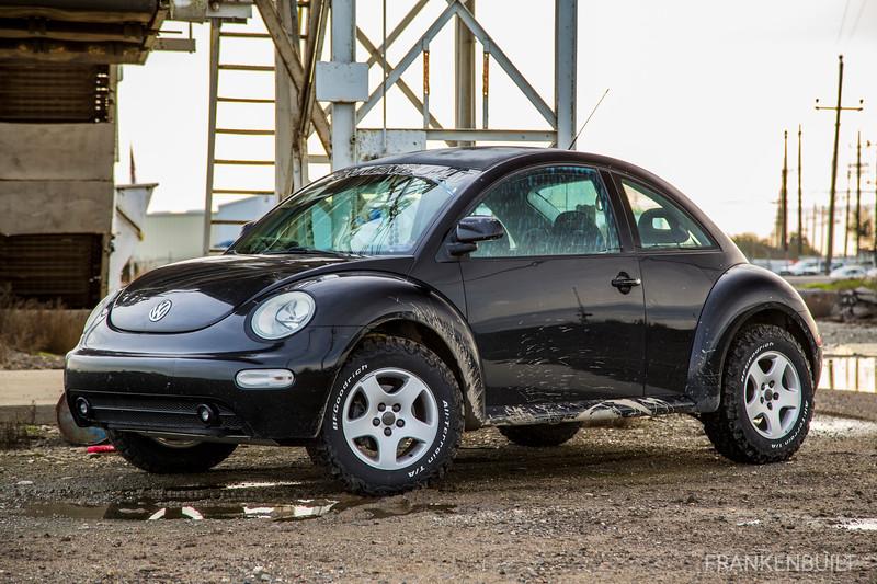 FRANKENBUILT Lifted VW New Beetle TDI