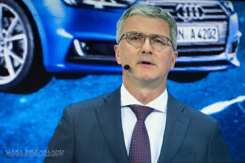 Rupert Stadler, Chairman of the Board, Audi AG