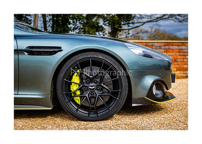 Aston Martin Rapide AMR Front Wheel Detail
