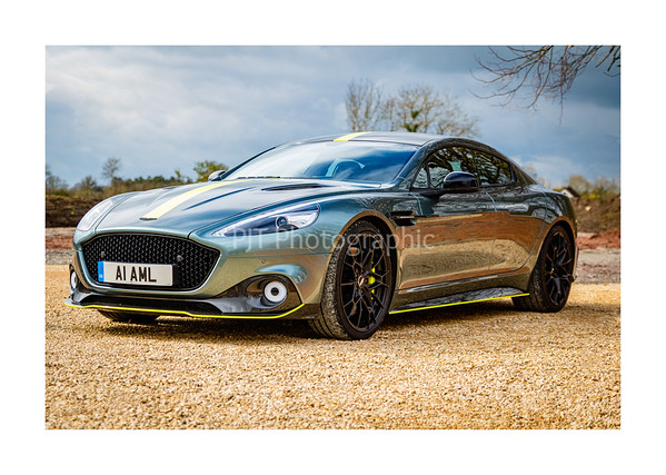 Aston Martin Rapide AMR Front 3/4