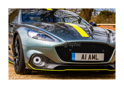 Aston Martin Rapide AMR Front 3/4 Detail
