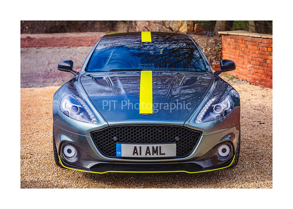 Aston Martin Rapide AMR Front View