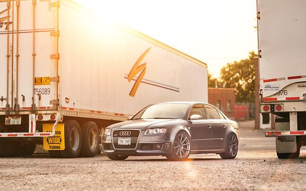 Audi RS4   ADV.1 Wheels