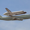 Space Shuttle Endeavour's final piggyback flight<br /> Long Beach, CA