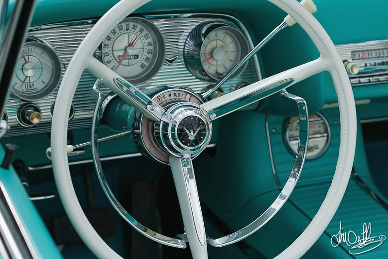 1958 Ford Thunderbird<br /> Belmont Shore Car Show 2011