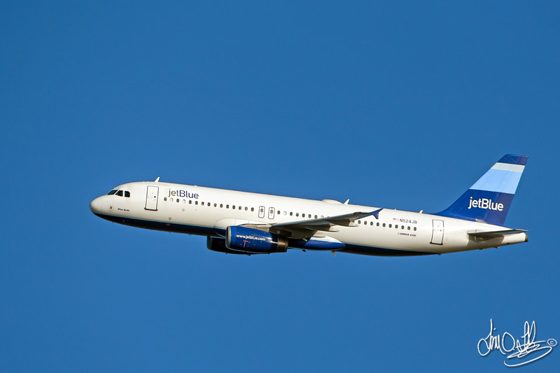 jetBlue Airways • Blue Belle<br /> Airbus A320-232