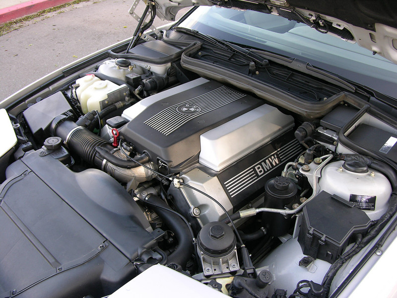 840 Engine Bay