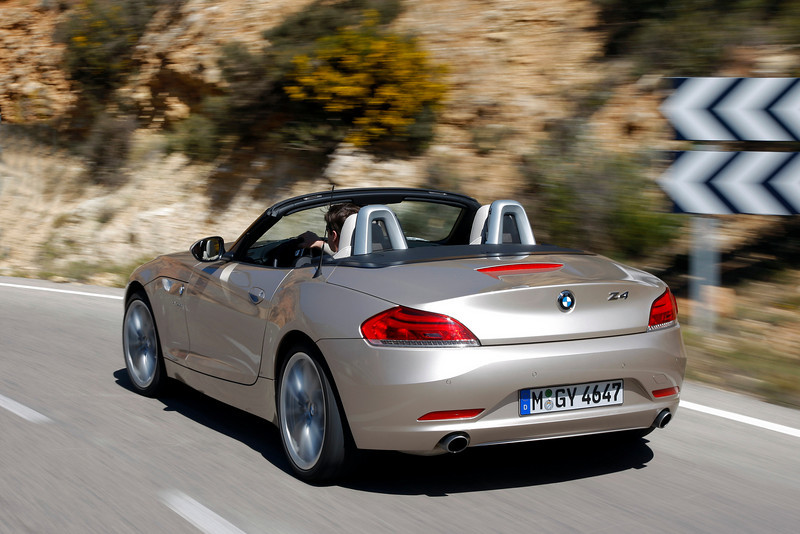 BMW Z4 - ALICANTE, SPAIN - 03/2009<br /> <br /> BMW AG MEDIA INFORMATION - FOR EDITORIAL PURPOSES ONLY