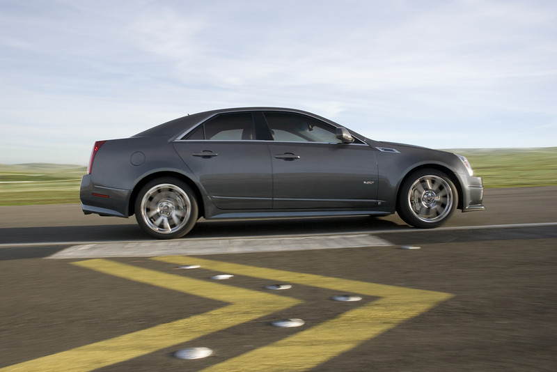 CTS-V was developed on some of the world's most demanding roads and tracks to reach elite levels of performance.
