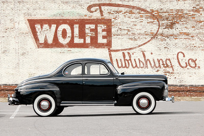 1942 Ford Business Coupe and Wolfe Publishing Co, Pittsburgh, PA. .
