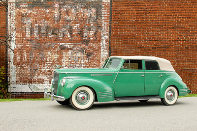 1941 Packard 120 and Tom Tucker Ginger Ale sign, Springdale, PA.