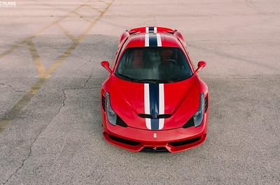 Client - Ferrari 458 Speciale