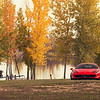 F458 Italia in Fall season :
