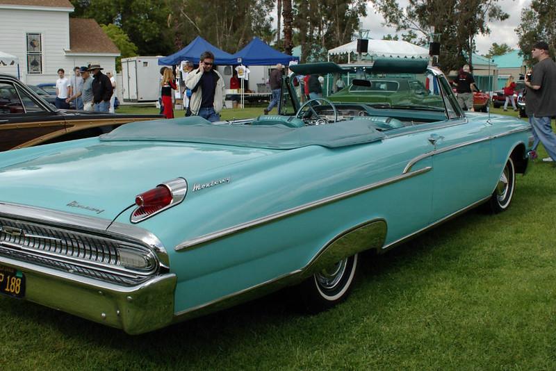 62 Mercury Convertible