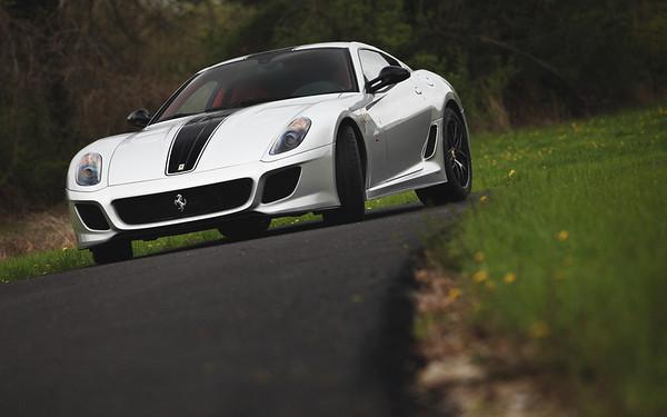 Ferrari 599 GTO   Argento Nurburgring