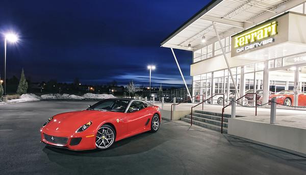 Ferrari 599 GTO   Rosso Corsa