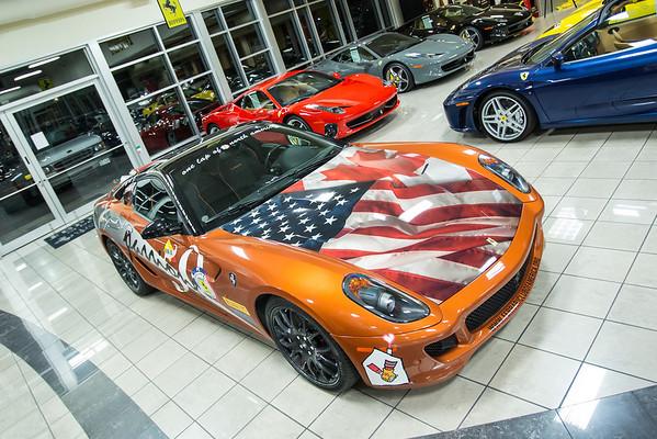 Ferrari Club of America 50th Anniversary