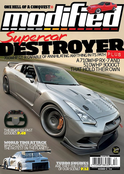 Nissan GTR | Modified Magazine Cover
