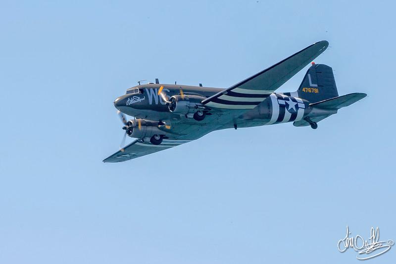 "Lyon Air Museum's C-47 Dakota ""Willa Dean"""