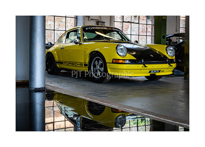 Porsche 911 Race Car awaiting rebuild