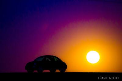 FRANKENBUILT Lifted VW New Beetle TDI Silhouette
