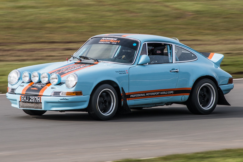 At Donington Park Race Circuit