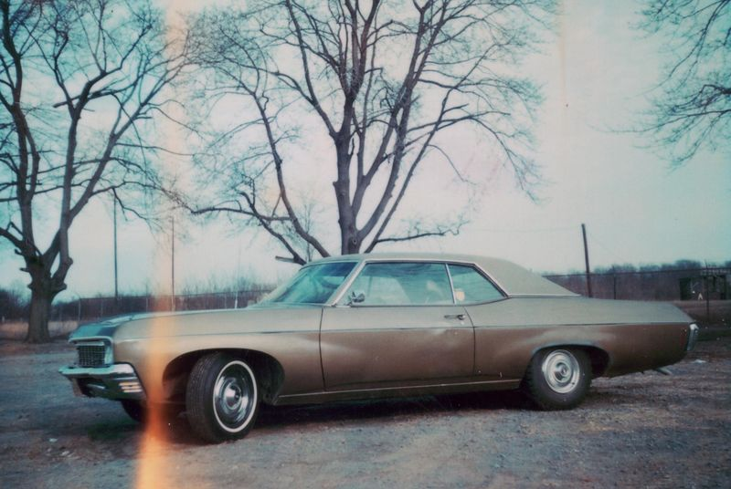 1976-1979)1970 Chevy Impala with a 327cu Corvette engine. Officially my first car after using my Dad's 1967 Dodge Monaco.